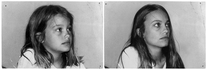 Daphne en 1986 & 2011, Paris