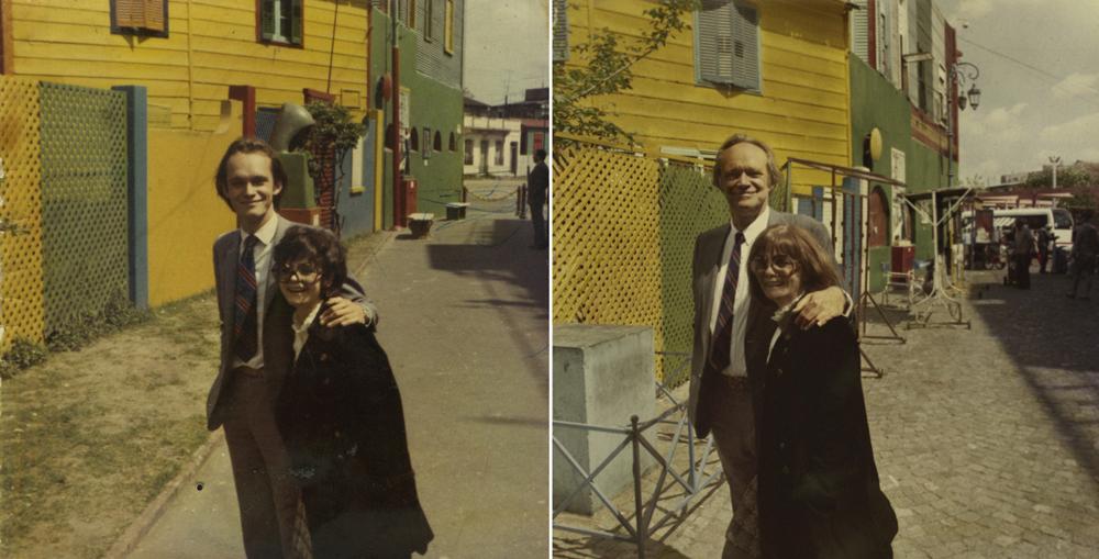 Les parents d'Irina Werning en 1970 & 2010, Buenos Aires