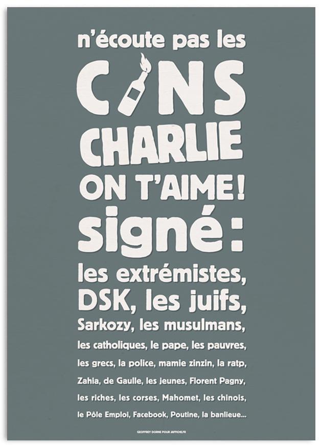 charlie small1 Geoffrey Dorne : entre talent et humanisme