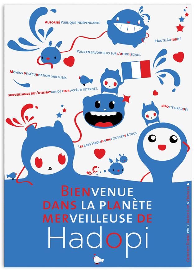 hadopi affiche small Geoffrey Dorne : entre talent et humanisme