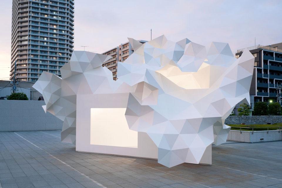 Bloomberg pavilion l 39 arbre et l 39 art spanky few for Architecture japonaise contemporaine