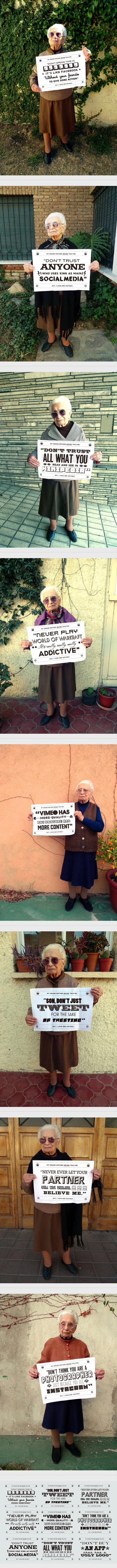 Grandmother Tips par Chacho Puebla