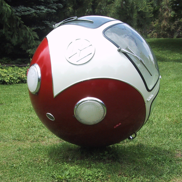 VW Bus ball