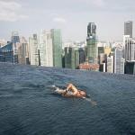 Marina Bay Sands : le plus haute piscine du monde