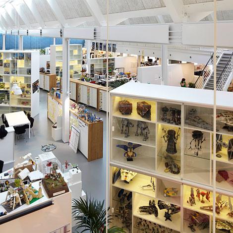 Les bureaux de Lego par Anders Sune Berg