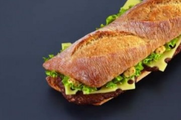 Burger baguette par leparisien.fr