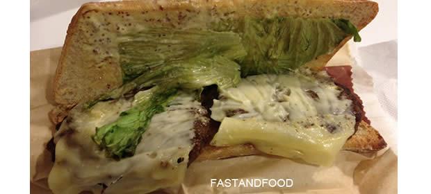 Burger baguette par fastandfood.fr