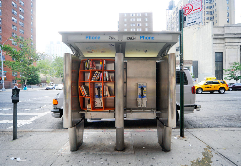 phoneboothlibrary01 Téléphoner et lire à New York