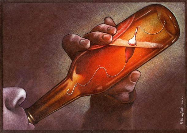 Satirical Illustrations by Pawel Kuczynski 12 Pawel Kuczynski : satire enfantine