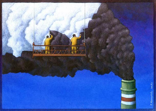 Satirical Illustrations by Pawel Kuczynski 16 Pawel Kuczynski : satire enfantine