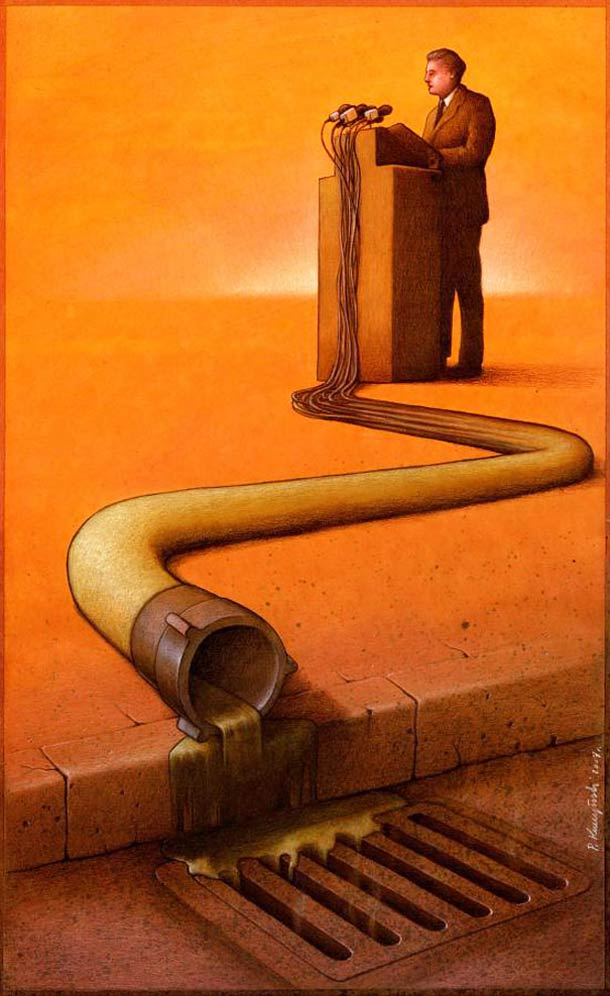 Satirical Illustrations by Pawel Kuczynski 4 Pawel Kuczynski : satire enfantine