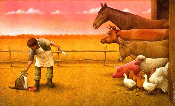 Satirical Illustrations by Pawel Kuczynski 6 Pawel Kuczynski : satire enfantine