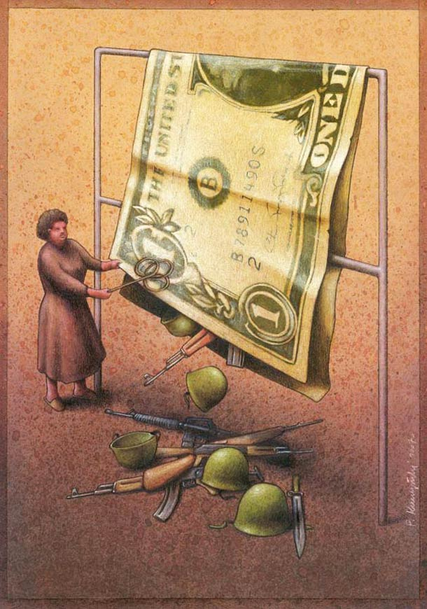 Satirical Illustrations by Pawel Kuczynski 7 Pawel Kuczynski : satire enfantine