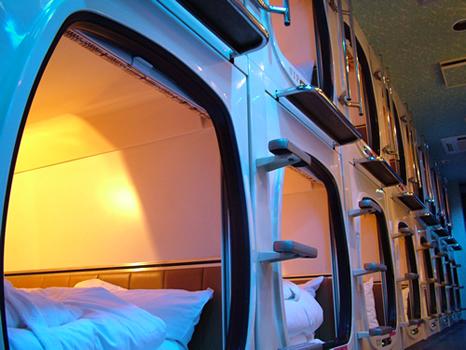 capsules hôtels