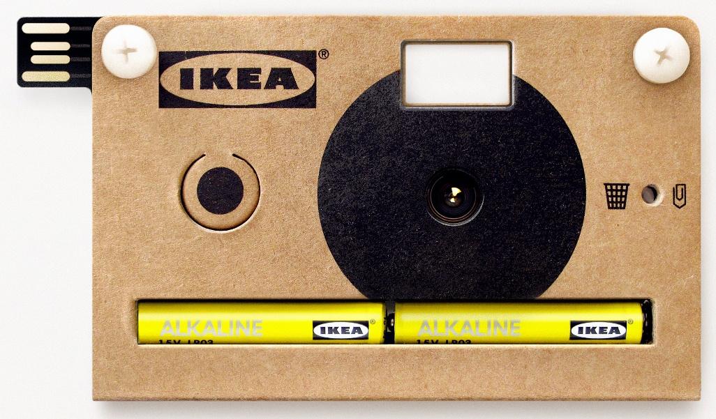 knappa IKEA Ikea lance un appareil photo en carton