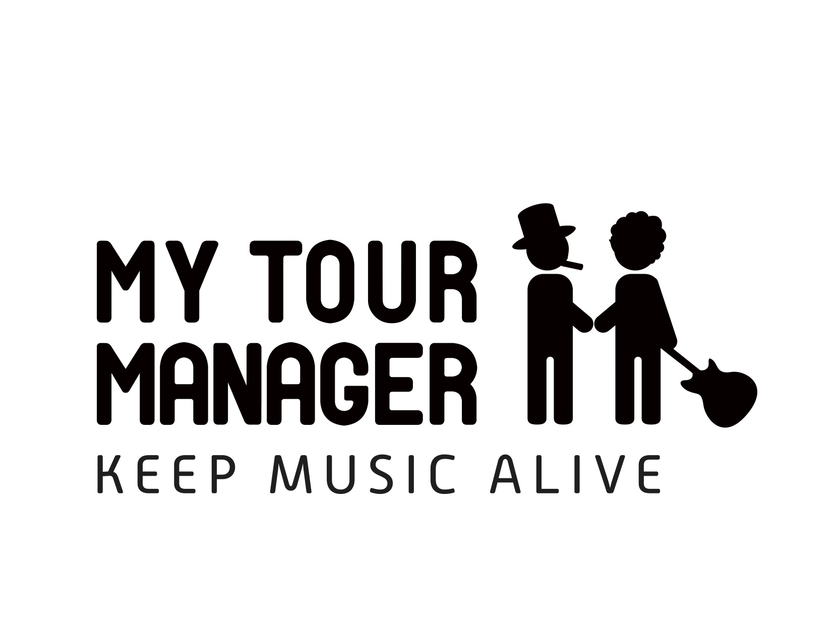 MTM logo Black baseline jpg My Tour Manager par Laure Decailly : Keep Music Alive