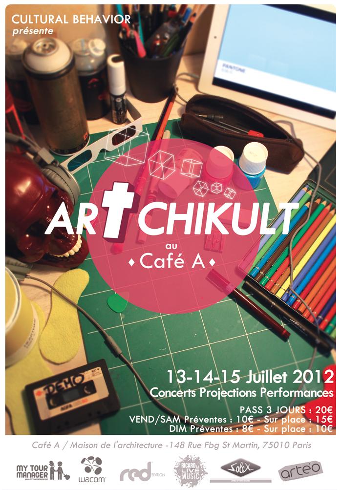 culturalbehavior artchikult11 Adèle Bauville, boss du festival Artchikult