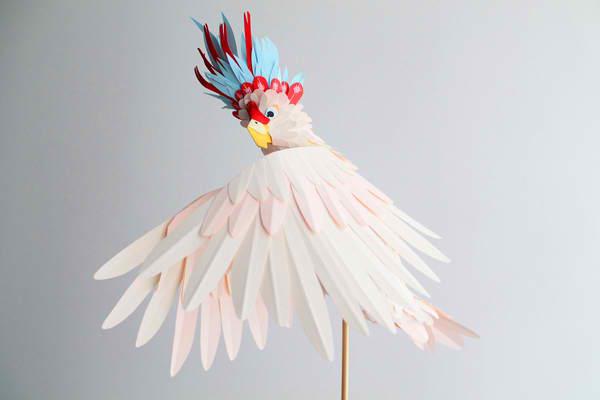 diana beltran herrera 13 Les oiseaux en papier