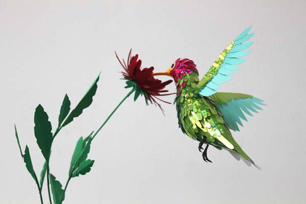 diana beltran herrera 14 Les oiseaux en papier