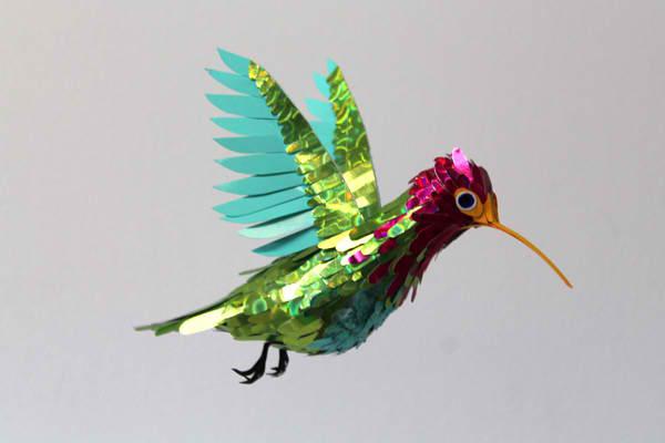 diana beltran herrera 7 Les oiseaux en papier