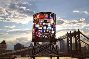 Kaleidoscopic Watertower