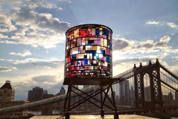 Kaleidoscopic Watertower