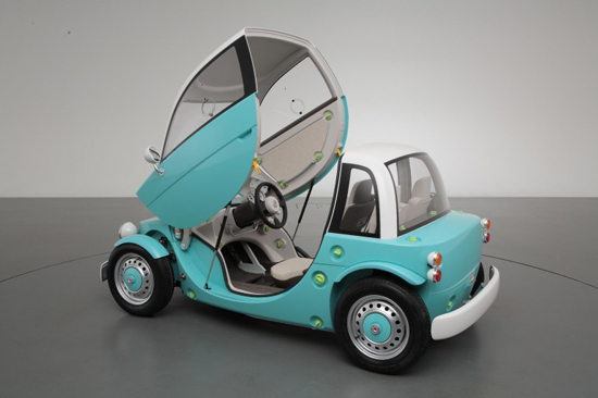 toyotacamatte 0 Toyota Camatte : le concept car pour enfant
