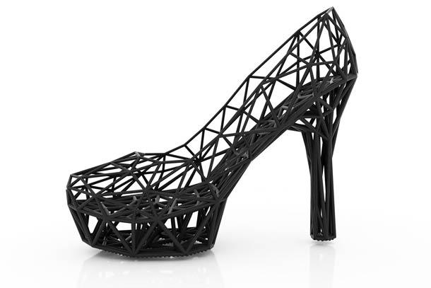 Strvct Fashion Shoes 3D Printed 3 Des chaussures réalisées grâce à une imprimante 3D
