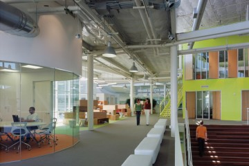 Siège de Google à Silicon Valley