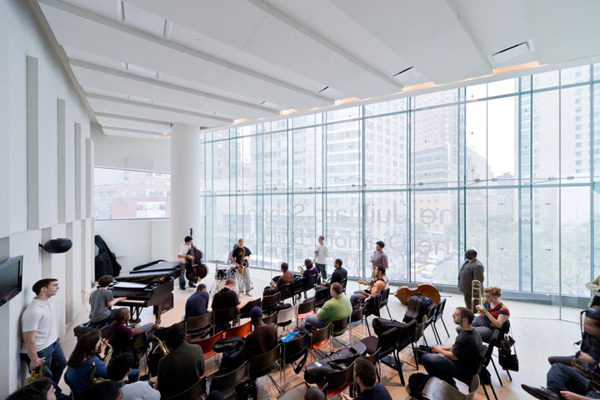 The Juilliard School par Iwan Baan