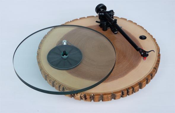Audiowood Barky Turntable de Joel Scilley