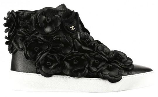Sneakers Camélia de Chanel - Jourdan Dunn's instagram