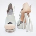 Chaemin Hong réalise des talons de chaussure en 3D