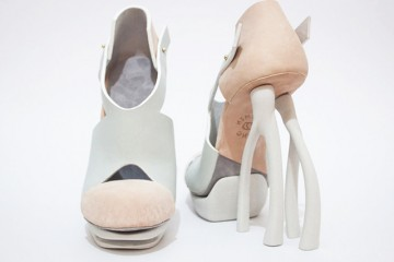 Chaemin-Hong-Bone-Inspired-3D-Printed-Shoes-High-Heels-Pumps-3