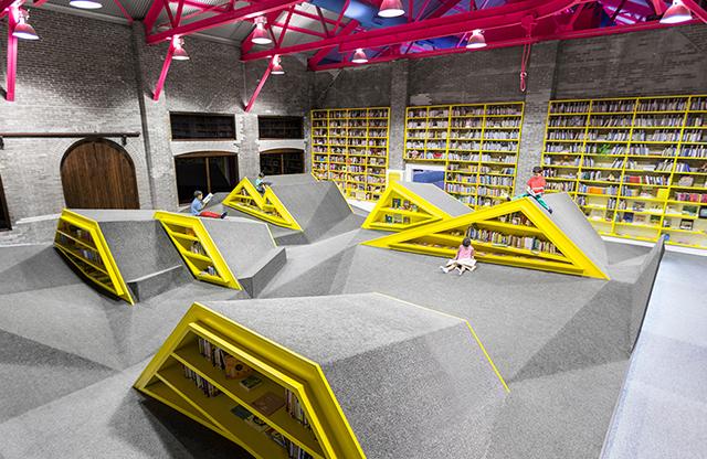 Childrens Library Cultural Center Conarte Monterrey Anagrama 4 Architecture : la bibliothèque de Monterrey au Mexique