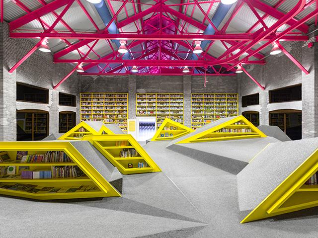 Childrens Library Cultural Center Conarte Monterrey Anagrama 5 Architecture : la bibliothèque de Monterrey au Mexique