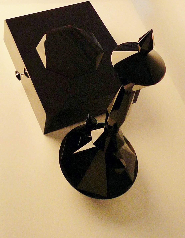 Etoile.Airdiem_  sculpture in obsidian
