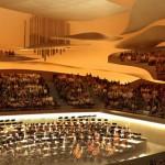 Ouverture de la Philharmonie de Paris en janvier 2015