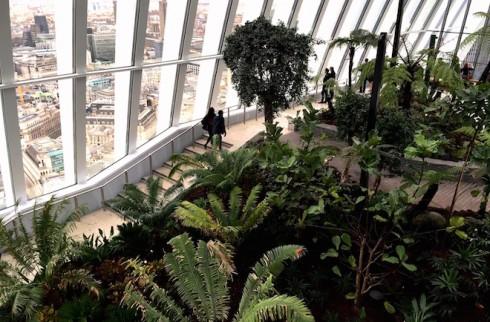 Sky Garden à Londres - Spanky Few