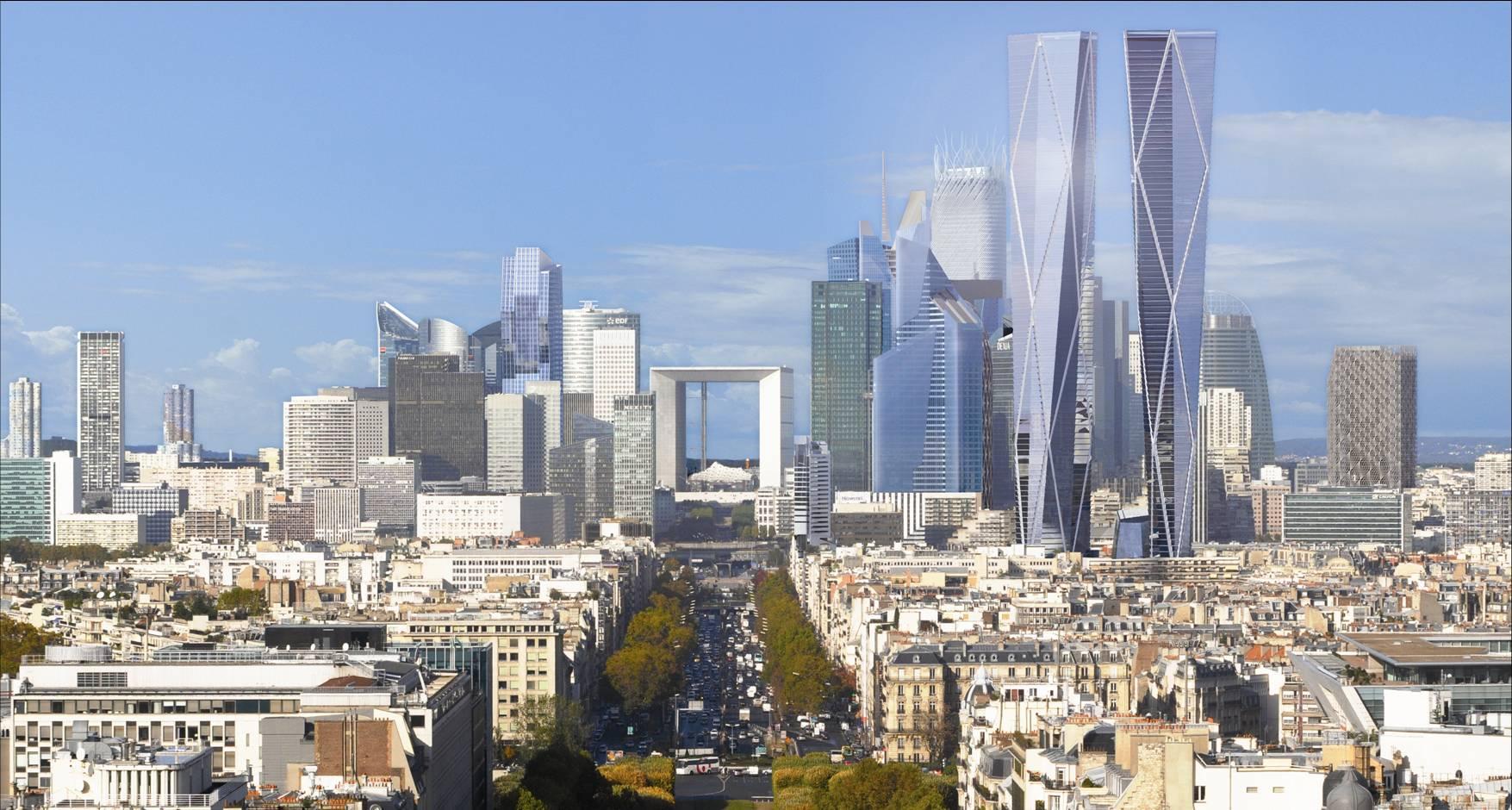 Les tours jumelles hermitage plaza arriveront en 2020 for Tour hermitage