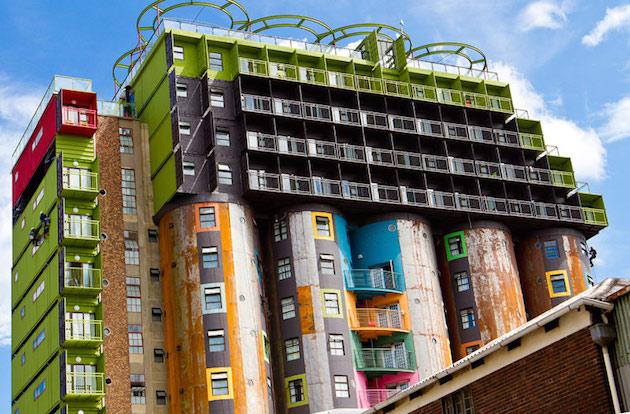 Des conteneurs recyclés en logements étudiants à ...