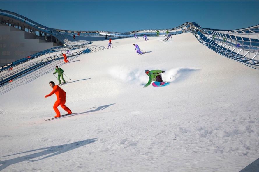 Slalom-House-piste-de-ski-spanky-few