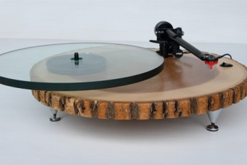 Audiowood Barky Turntable de Joel Scilley