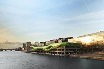 Les Docks - Cité de la Mode et du Design. Jakob + MacFarlane / Photo : Thibaut Vankemmel agence Les Barbus